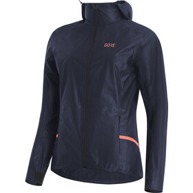 GORE WEAR R7 Gore-Tex Shakedry Chaqueta con capucha Mujer, storm blue
